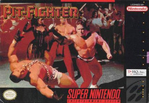 Pit-Fighter - SNES (Pre-owned)