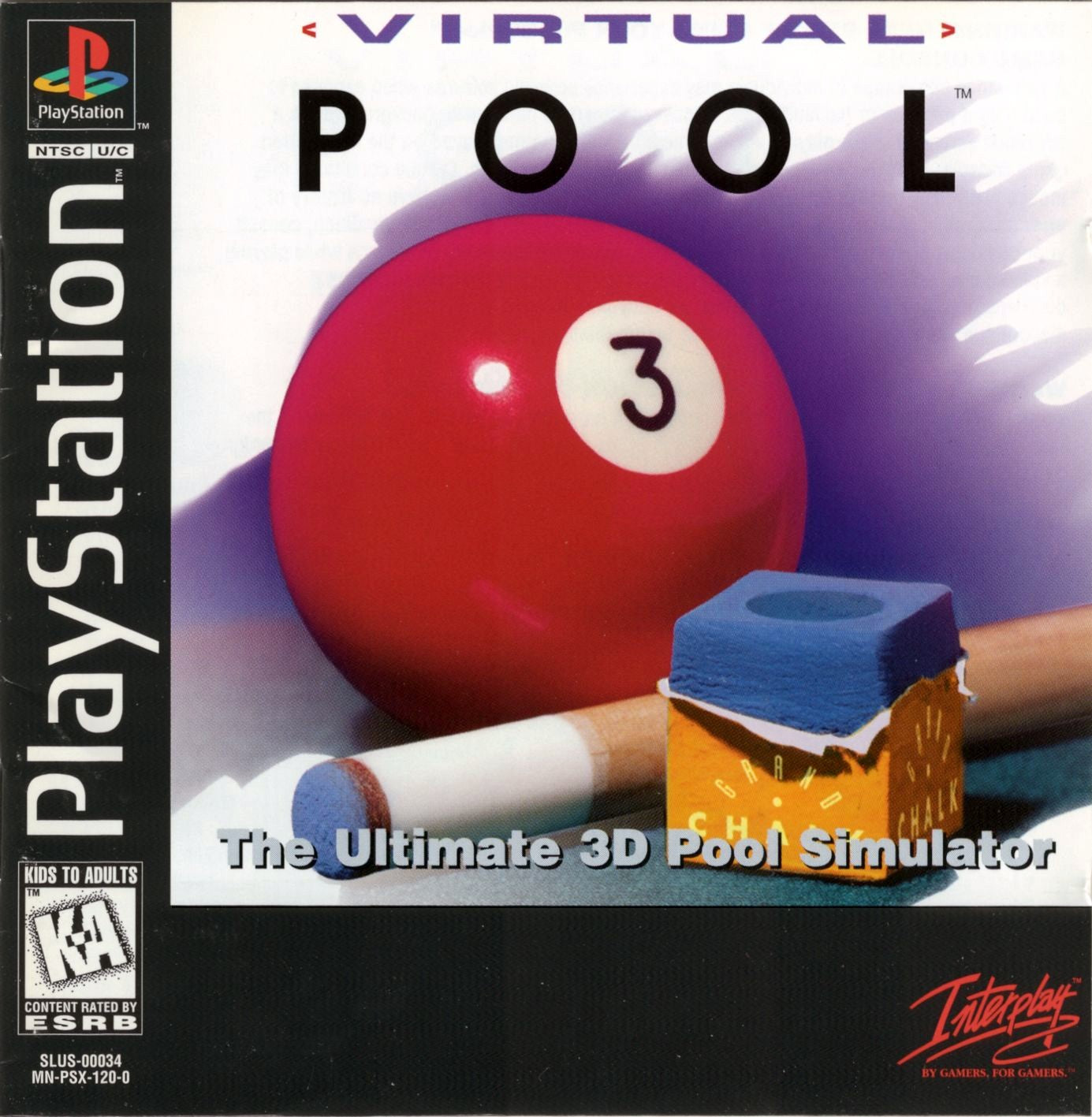 Virtual Pool - PS1 (Pre-owned)