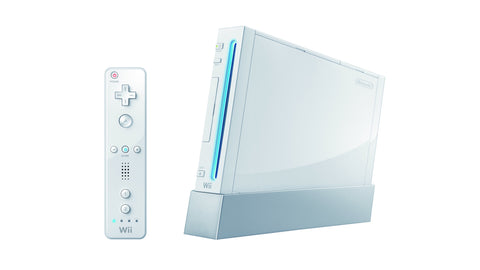 White Nintendo Wii System Console