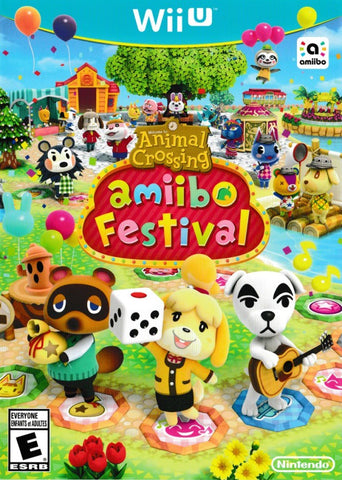 Animal Crossing Amiibo Festival - Wii U (Game Only)