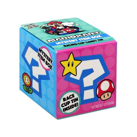 Mario Kart Mystery Item Box Candy Tin