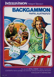 Backgammon - Intellivision (Pre-owned)