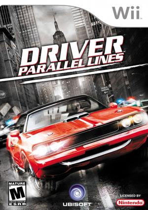 Driver Parallel Lines - Wii (Pre-owned)