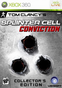 Splinter Cell: Conviction Collector's Edition - Xbox 360 (Pre-owned)