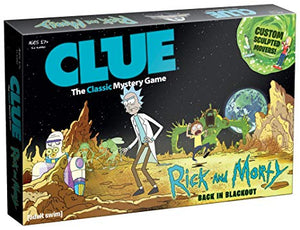 Clue - Rick and Morty Back in Blackout