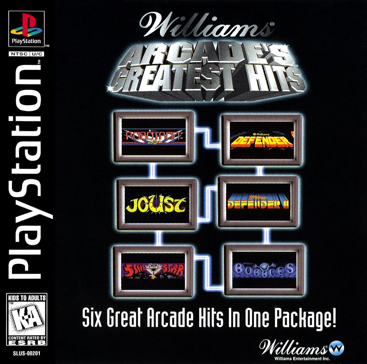 Williams Arcade's Greatest Hits - PS1 (Pre-owned)
