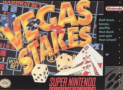 Vegas Stakes - SNES (Pre-owned)