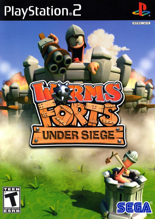 Worms Forts Under Siege - PS2 (Pre-owned)