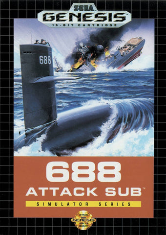 688 Attack Sub - Genesis (Pre-owned)