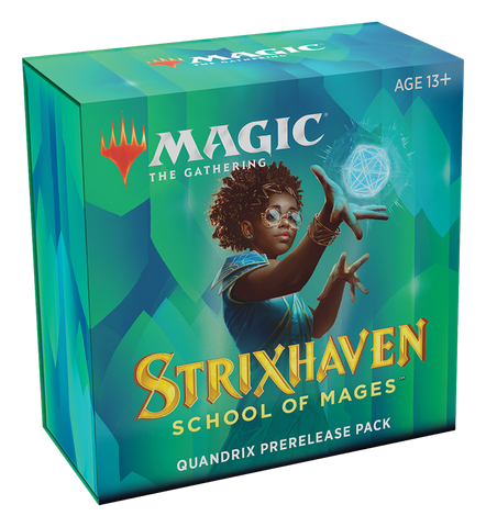 MTG Strixhaven: School of Mages Prerelease Pack Kit with 2 Free Packs - Quandrix