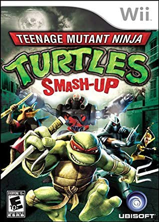 Teenage Mutant Ninja Turtles: Smash-Up - Wii (Pre-owned)