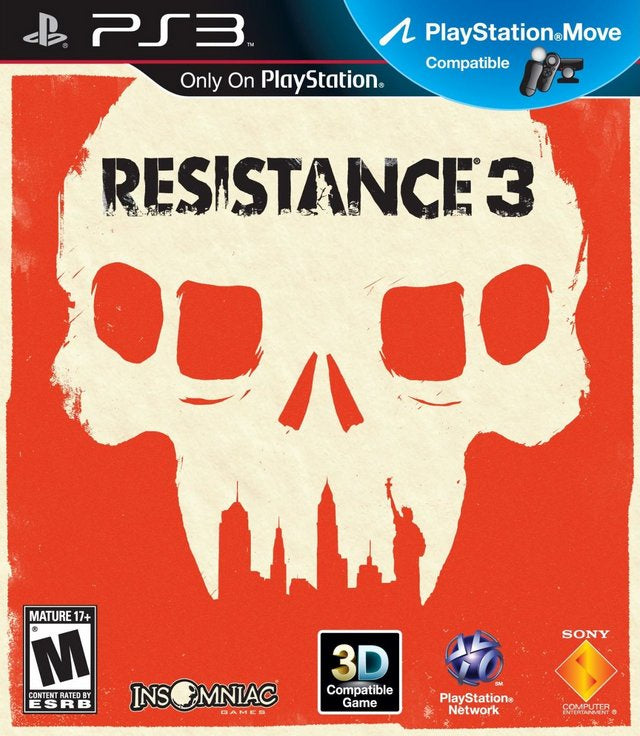 Resistance 3 - PS3 (Pre-owned)