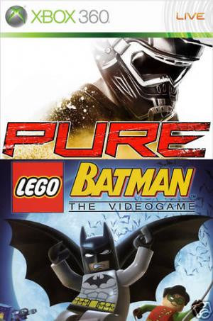LEGO Batman / Pure Double Pack - Xbox 360 (Pre-owned)
