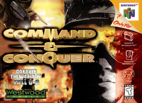 Command and Conquer - N64 (Pre-owned)