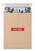 Kraft Self-Seal Stayflats #10 - 7 x 9""