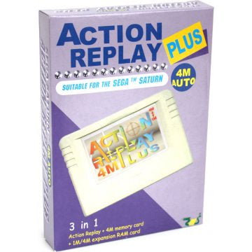 EMS Action Replay Plus 4M 3 in 1 Memory Card Sega Saturn - Saturn