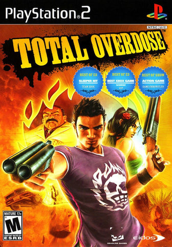 Total Overdose A Gunslinger's Tale in Mexico - PS2 (Pre-owned)