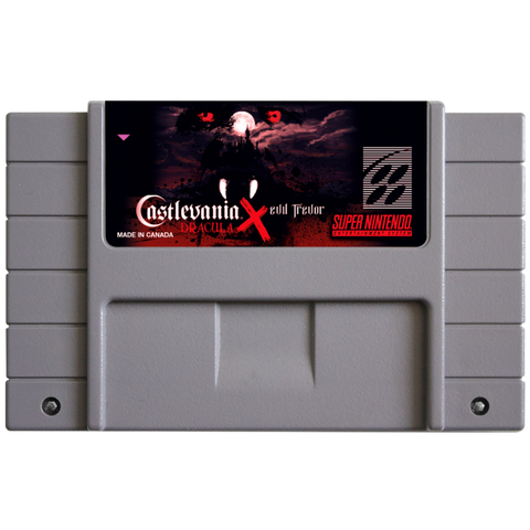 Castlevania Dracula X Evil Trevor (Reproduction) - SNES (Pre-owned)