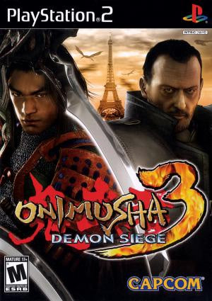 Onimusha 3 Demon Siege - PS2 (Pre-owned)
