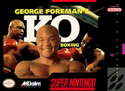 George Foreman's KO Boxing - SNES (Pre-owned)