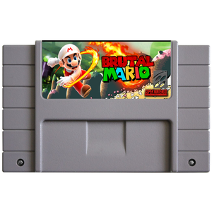 Brutal Mario (Reproduction) - SNES (Pre-owned)