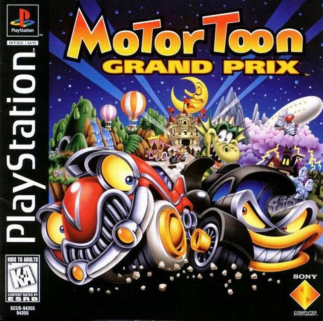 Motor Toon Grand Prix - PS1 (Pre-owned)