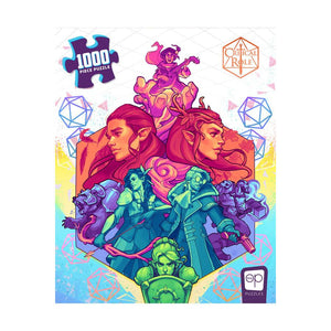 Critical Role: Vox Machina Puzzle (1000 Piece Puzzle)
