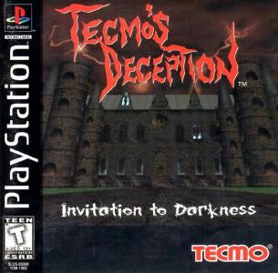 Tecmo's Deception: Invitation to Darkness - PS1 (Pre-owned)