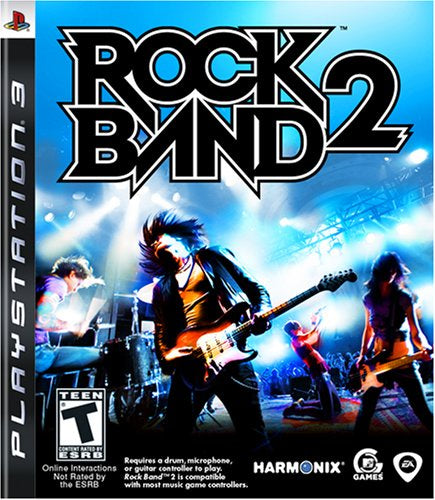 Rock Band 2 (Game Only) - PS3 (Pre-owned)