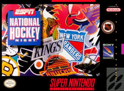 ESPN National Hockey Night - SNES (Pre-owned)