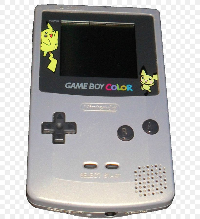 Pokemon Edition Gameboy Color System Pikachu Console Gold Silver Game A C Games