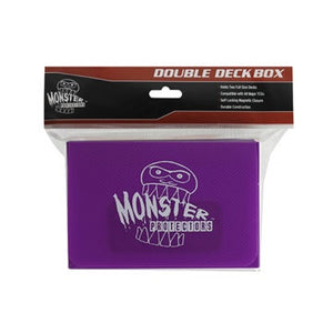 Monster Protectors: Double Deck Box - Matte Purple