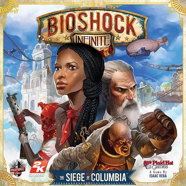 Bioshock Infinite The Siege of Columbia - Board Game