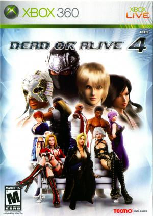 Dead or Alive 4 - Xbox 360 (Pre-owned)