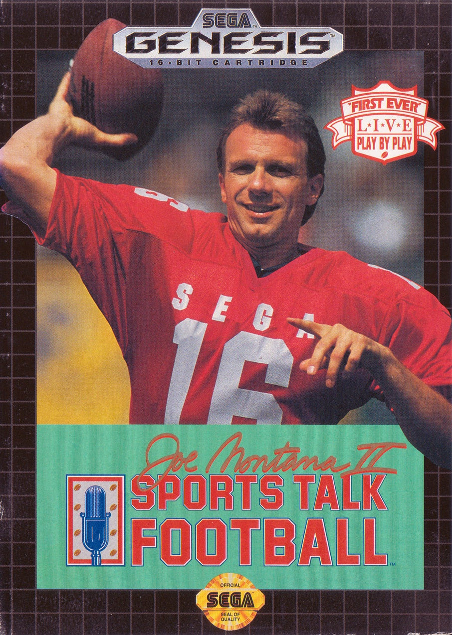 Joe Montana II Sports Talk Football - Genesis (Pre-owned)