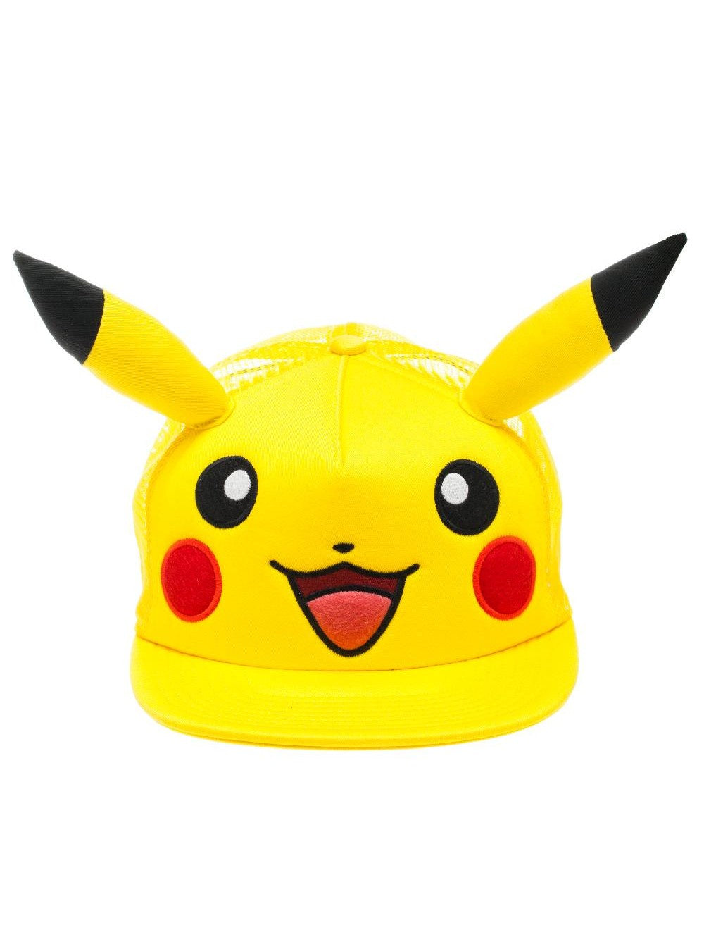 POKEMON - Pikachu Big Face Cap with Ears Yellow