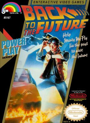 Back to the Future - NES (Pre-owned)