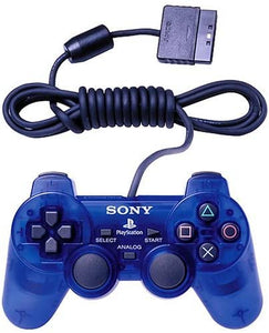Playstation 2 Dualshock Controller Official PS2 (Clear Blue)