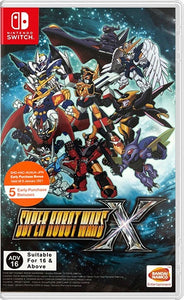 Super Robot Wars X (Asia Import - English Cover & Plays in English) - Switch