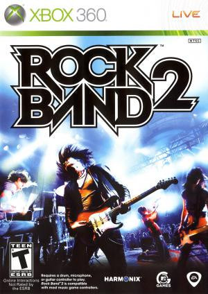 Rock Band 2 (Game Only) - Xbox 360 (Pre-owned)