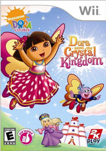 Dora the Explorer: Dora Saves the Crystal Kingdom - Wii (Pre-owned)