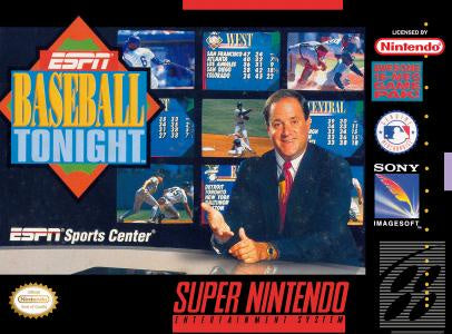 ESPN Baseball Tonight - SNES (Pre-owned)