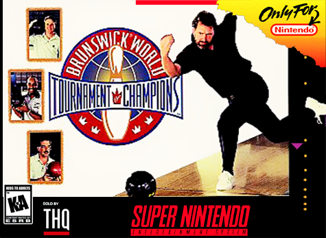 Brunswick World Tournament of Champions - SNES (Pre-owned)