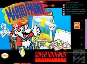 Mario Paint - SNES (Pre-owned)