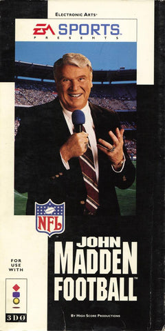 John Madden Football (Long Box) - 3DO (Pre-owned)