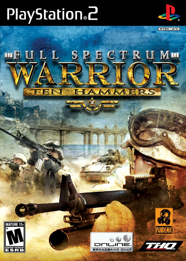 Full Spectrum Warrior Ten Hammers - PS2 (Pre-owned)