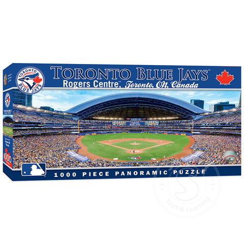 MasterPieces MLB Toronto Blue Jays Panoramic Puzzle (1000 pieces)