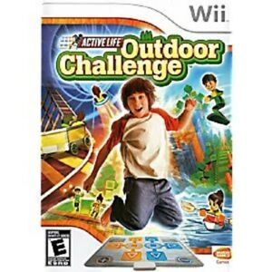 Active Life Outdoor Challenge - Wii (Game only, no mat included)(Pre-owned)