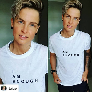 That wonderful human explains it best 🙌🏼 #IAmEnough