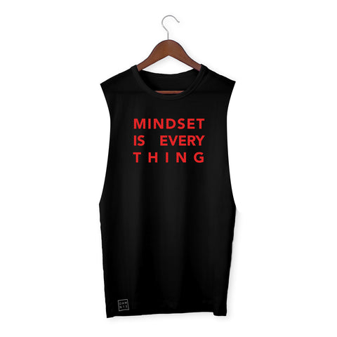 BLACK VEST / MINDSET IS EVERYTHING